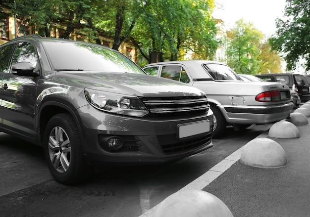 Auto's op parking