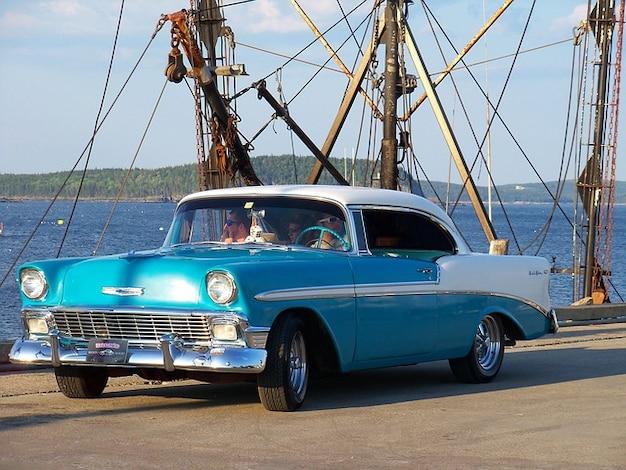 Auto's vintage auto klassieke auto's