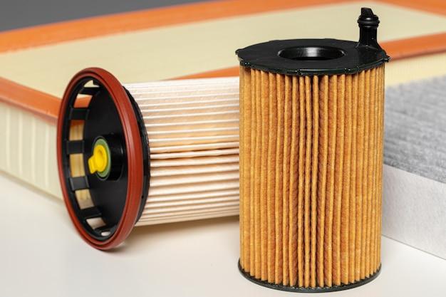 Automatische filters sluiten. nieuwe onderdelen voor de auto.