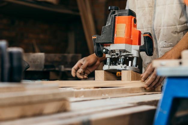 Automatische handmatige freesmachine voor hout