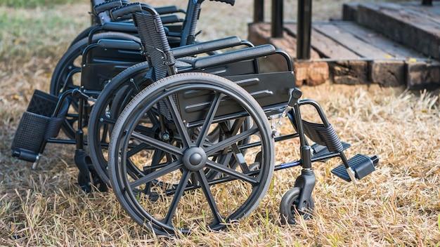 Automatische rolstoel parkeren