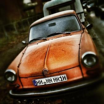 Autos park coupe historisch voertuig auto