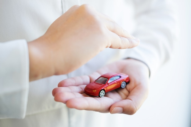 Autoverzekering en collision damage waiver concepts
