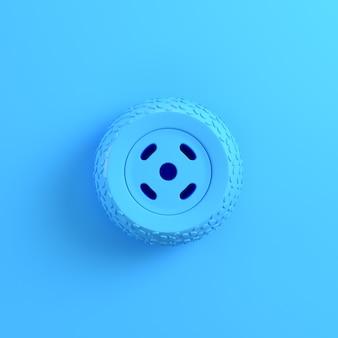 Autowiel 3d-rendering