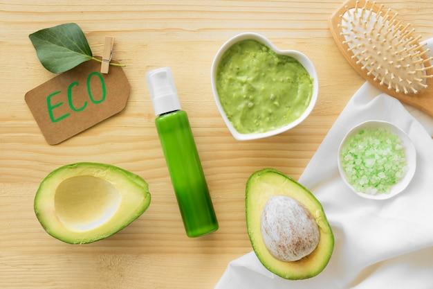 Avocado cream spa natuurlijke cosmetica