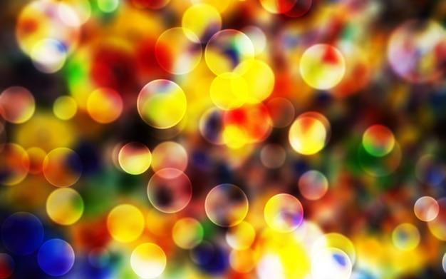 Avond stadslook. glitter vintage lichten achtergrond. intreepupil bokeh-effect. achtergrond, behang voor reclame of ontwerp, apparaat. kopieerruimte. magische glinstering.