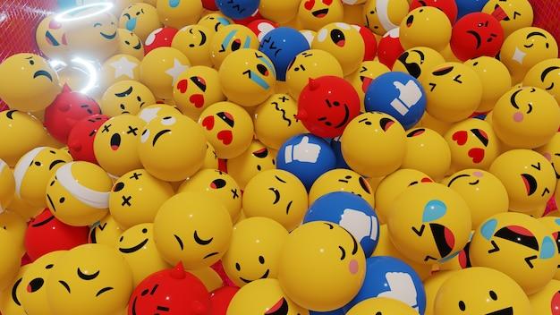 Avonturen in wereld emoji-achtergrond voor en behang in sociale media en emoji-scène