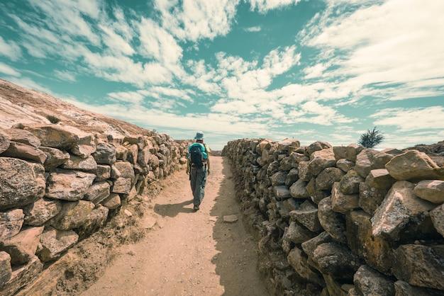 Avonturen op island of the sun, titicaca lake, bolivia