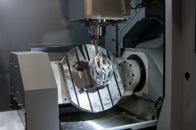 Axis bewerkingscentrum met hoge snelheid voor metaalbewerking