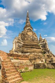 Ayutthaya historisch park in ayutthaya thailand