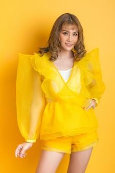 Aziatisch model mode meisje