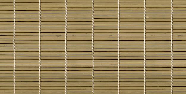 Aziatische lichte bamboe mat textuur achtergrond