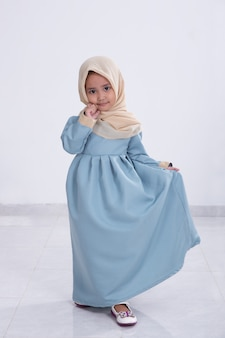 Aziatische moslim meisje
