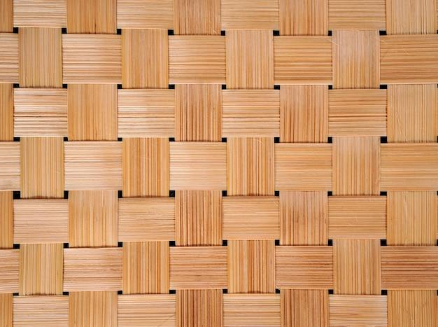Aziatische stijl van bamboe weven patroon voor achtergrond