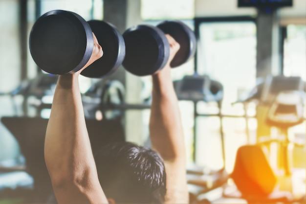 Azië man training fitness