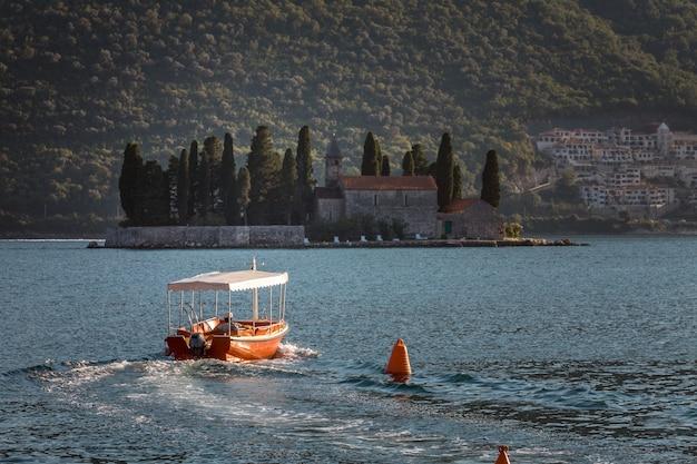 Baai van kotor montenegro