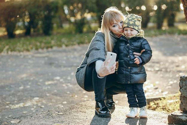 Baby openlucht september twee mobiele
