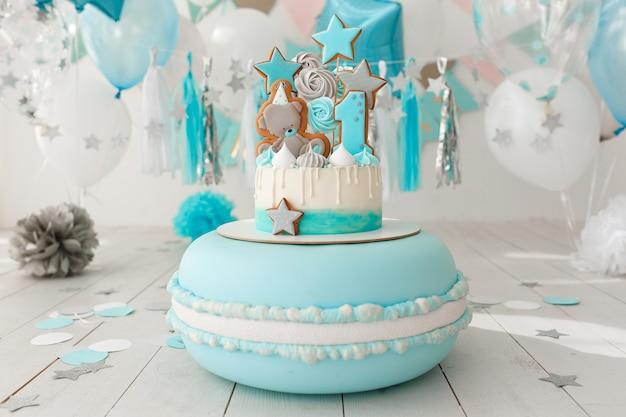 Baby verjaardagstaart