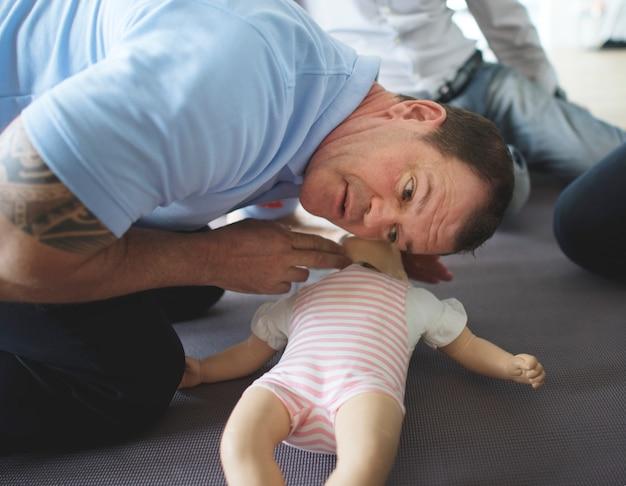 Babyreanimatie ehbo-training