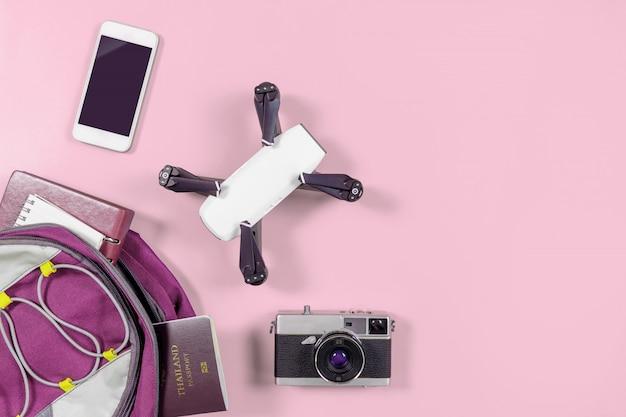 Backpacker-gadgets en -objecten
