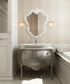 Badkamer klassieke stijl