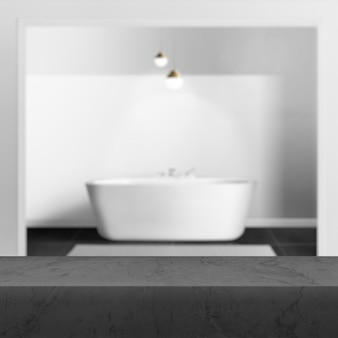 Badkamer product achtergrond, interieur achtergrondafbeelding