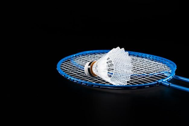 Badminton sportuitrusting close-up