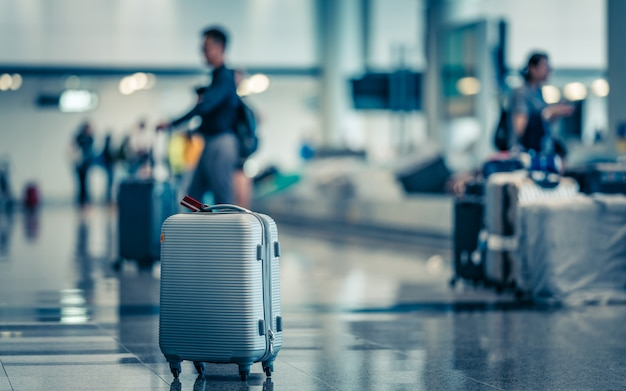 Bagage tas op de luchthaven