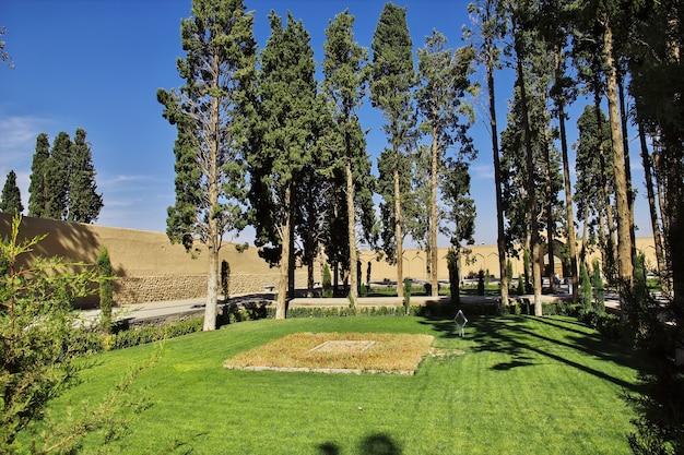Bagh-e fin garden in kashan, iran