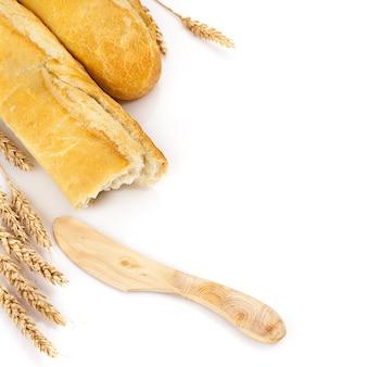 Baguettes geïsoleerd over wit