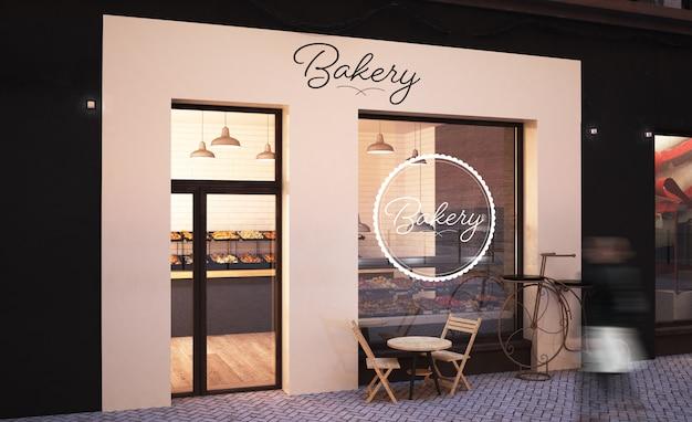 Bakkerij winkel