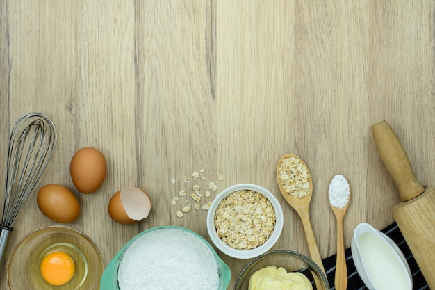 Bakkerijhulpmiddelen op hout