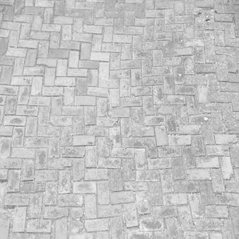Baksteen patroon stoep