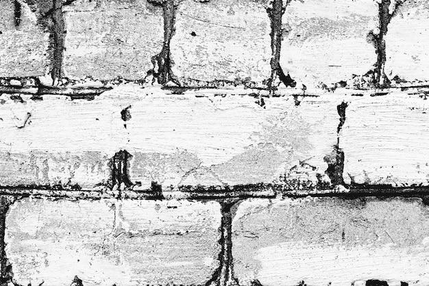 Baksteentextuur met krassen en scheuren