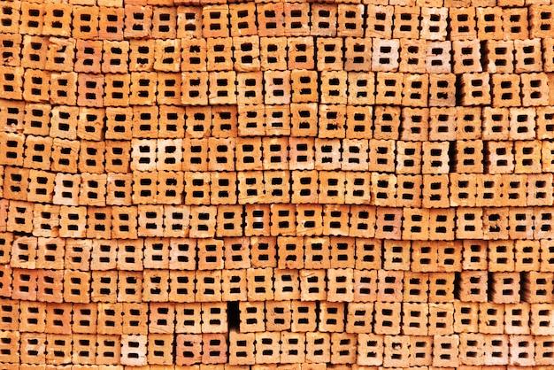 Bakstenen array samen patronen achtergrond
