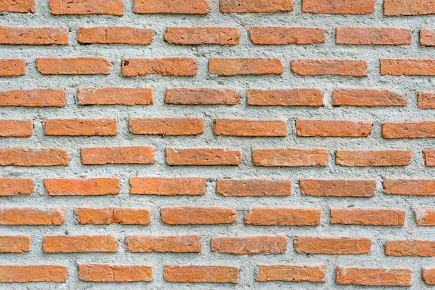 Bakstenen muur achtergrond cement textuur