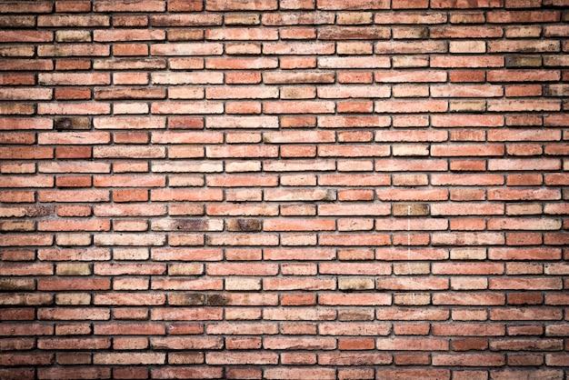 Bakstenen muur achtergrond (muur textuur)