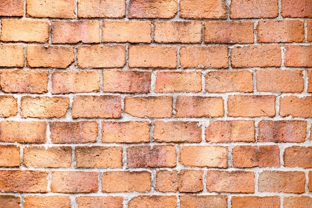 Bakstenen muur achtergrondstructuur, mooi oud grunge verweerd metselwerk.