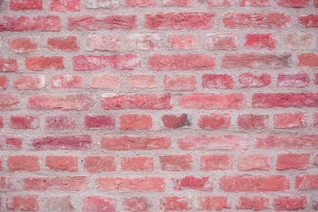 Bakstenen muur als achtergrond of textuur