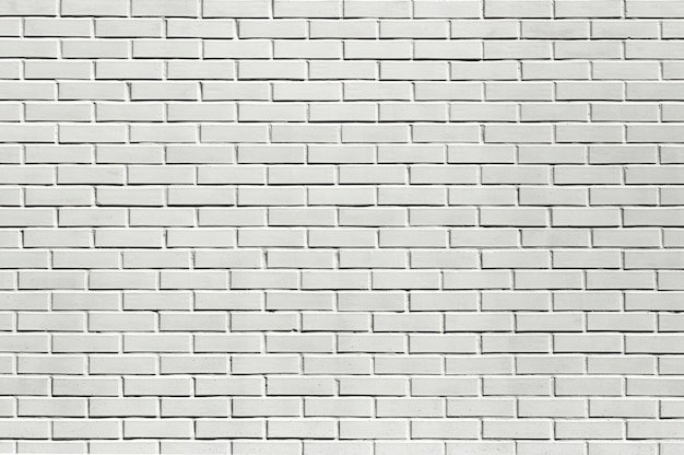 Bakstenen witte muur achtergrond. wit stenen metselwerk. hoge kwaliteit foto