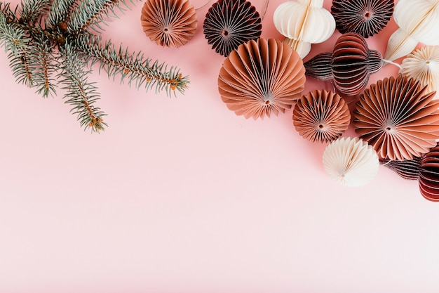 Bal garland decoraties