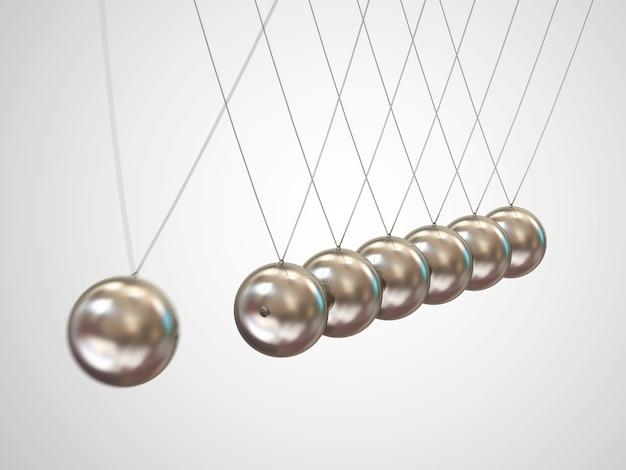 Balancerende ballen newton's wieg