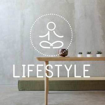 Balans gezondheidszorg gezond leven meditatie