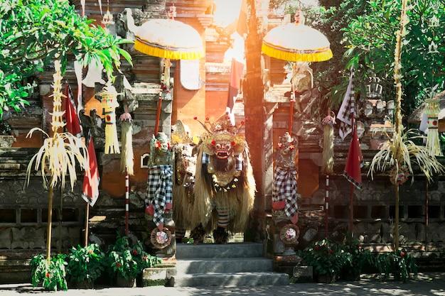 Balinees traditioneel barong devil-masker