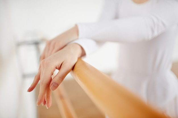 Ballerina handen