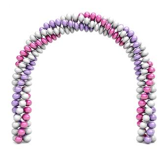 Ballonnen arch