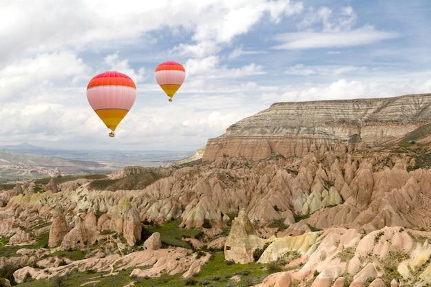 Ballonvaren in cappadocië
