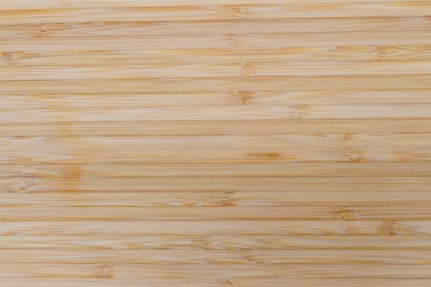 Bamboe bord textuur. duurzaam en ecologisch materiaal