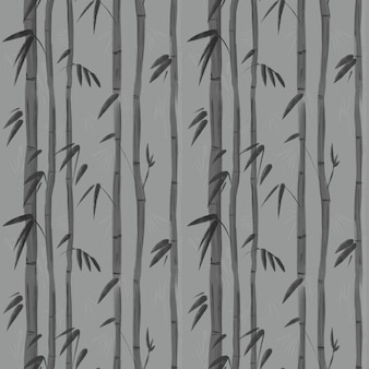 Bamboe plant. naadloos patroon voor behang klaar om af te drukken