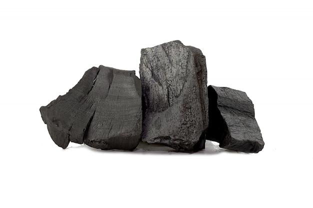 Bamboe poeder, natuurlijke houtskool, heeft geneeskrachtige eigenschappen met geïsoleerde traditionele houtskool